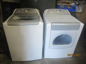 WASHER AND DRYER WHIRLPOOL CABRIO